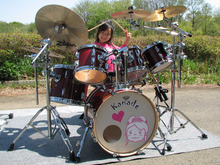 $Drum princess  さとうかなでの「奏でるブログ」