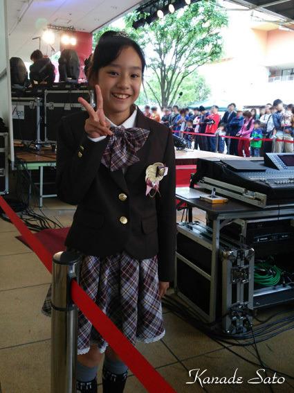 【ステージ・レポート】中学生最初の「ビナウォークミュージックディライト」の記事より