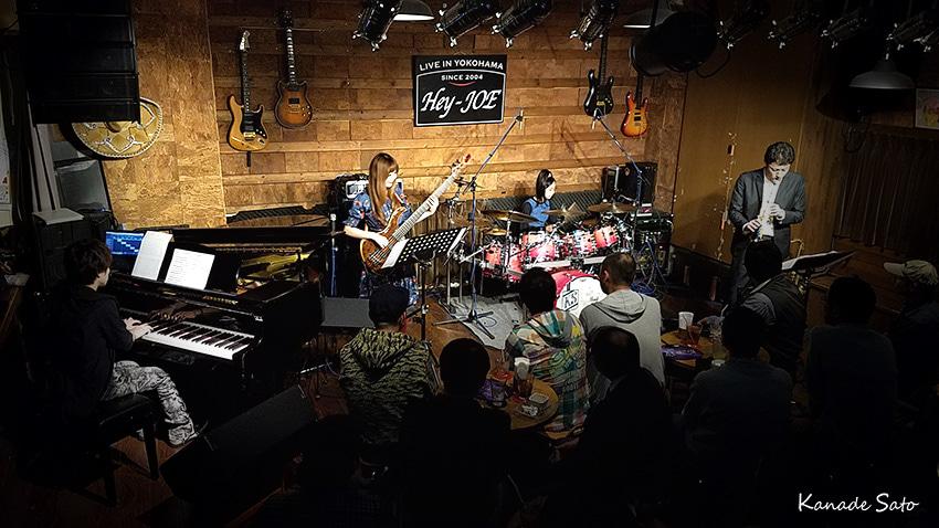 【Liveレポート】『key Rei jazz祭り』@Hey-Joeの記事より